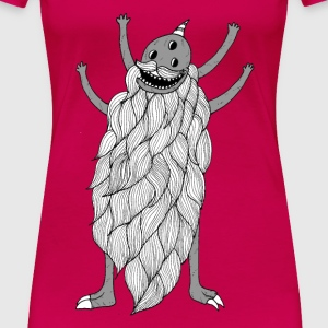 Donald The Beard Monster - Women - Women's Premium T-Shirt