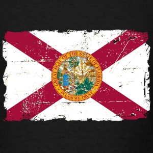 Florida Flag - Vintage Look T-Shirts - Men's T-Shirt