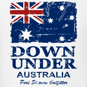 Australia Flag - Vintage Look T-Shirts - Men's T-Shirt