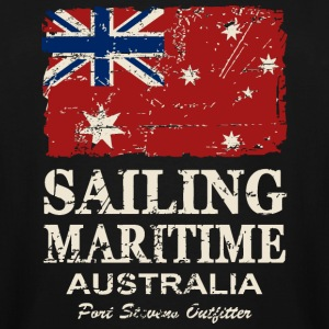 Australia Maritime  Flag - Vintage Look T-Shirts - Men's Tall T-Shirt