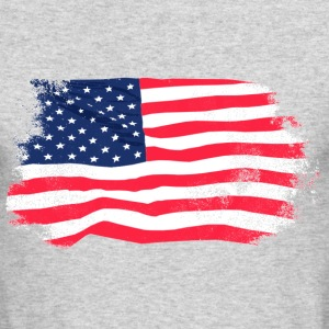 USA Flag - Vintage Look Long Sleeve Shirts - Men's Long Sleeve T-Shirt by Next Level