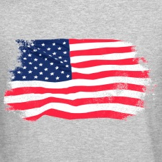 USA Flag - Vintage Look Long Sleeve Shirts