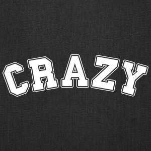 crazy college Bags & backpacks - Tote Bag