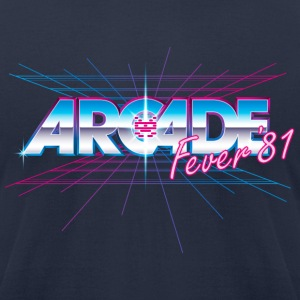 Arcade Fever 81 T-Shirts - Men's T-Shirt by American Apparel