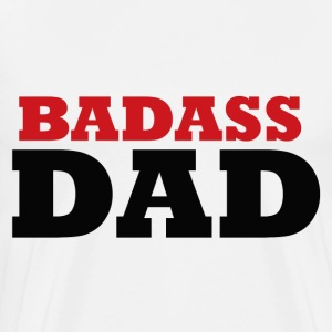 Badass dad for fathers day - Men's Premium T-Shirt