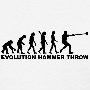 Evolution Hammer throw Women's T-Shirts - Women's T-Shirt