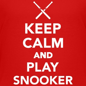 Keep calm and Play Snooker Kids' Shirts - Kids' Premium T-Shirt
