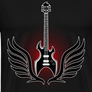 rock_and_roll_ebass_04201502 T-Shirts - Men's Premium T-Shirt