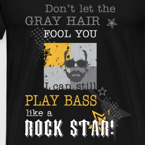 Bass guitarist T-shirt - I can play bass - Men's Premium T-Shirt