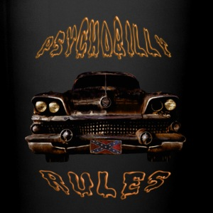 Psychobilly Rules Hotrod Mug - Full Color Mug