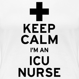 Keep Calm ICU - Women's Premium T-Shirt