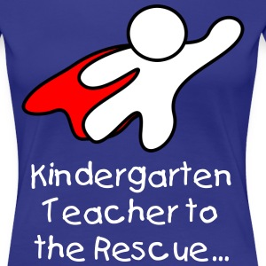Kindergarten Teacher TShirt - Women's Premium T-Shirt