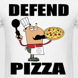 Defend Pizza T-Shirt - Men's T-Shirt