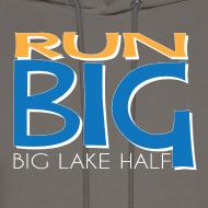 Design ~ Run Big Men's Hoodie