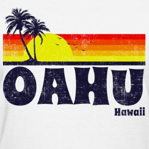 Oahu Hawaii Women's T-Shirts - Women's T-Shirt