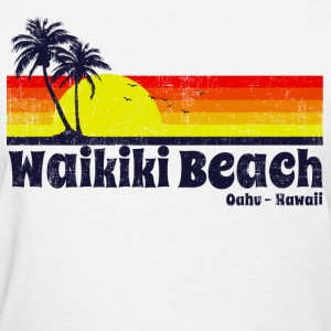 Waikiki Beach Hawaii Women's T-Shirts - Women's T-Shirt