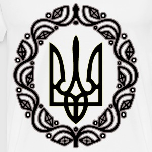 UKRAINE Trident  - Men's Premium T-Shirt