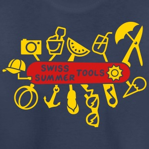 Swiss Summer Knife Kids' Shirts - Kids' Premium T-Shirt