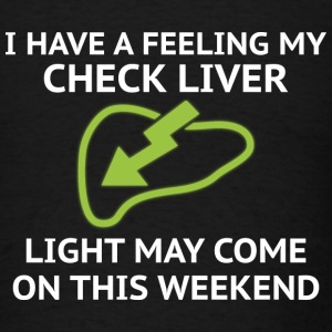 Check Liver Light - Men's T-Shirt