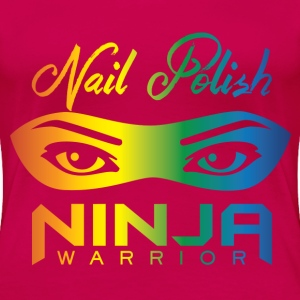 Nail Polish Fan Shirt - Women's Premium T-Shirt