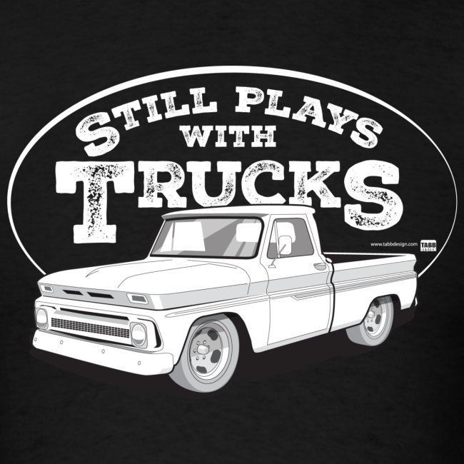 64-66 C10 Fleetside Tee (White graphic)