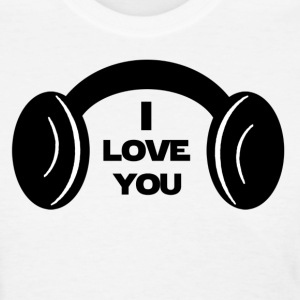 I LOVE YOU Star Wars Couple - Women's T-Shirt