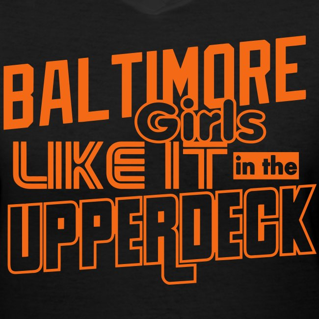 Baltimore Girls Like It In The Upperdeck