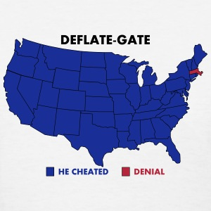 Deflate-Gate USA Map Voters Poll Women's T-Shirts - Women's T-Shirt
