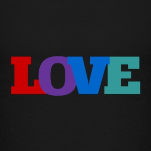 Love Makes the World Go 'Round - Kids' Premium T-Shirt