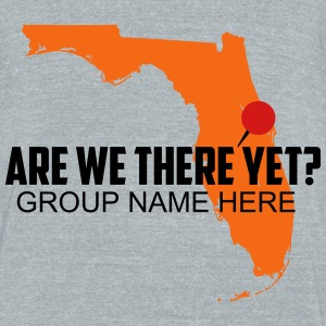 Are We There Yet? Orlando, Florida - Unisex Tri-Blend T-Shirt by American Apparel
