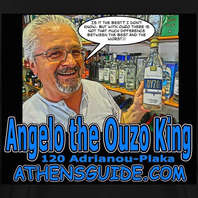 Angelo the Ouzo King (Black)