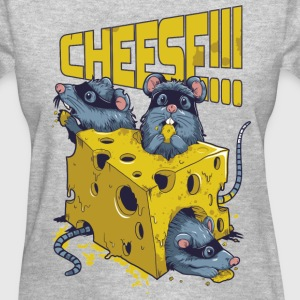 SAY CHEESE!! WOMEN T-SHIRT - Women's T-Shirt