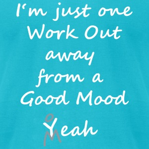 Quote Good Mood design by patjila2 2015 T-Shirts - Men's T-Shirt by American Apparel