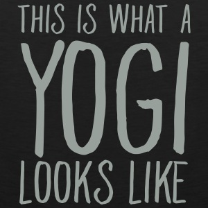 This Is What A Yogi Looks Like Tank Tops - Men's Premium Tank