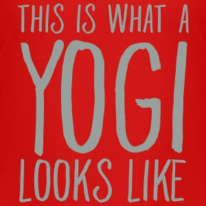 This Is What A Yogi Looks Like Kids' Shirts - Kids' Premium T-Shirt