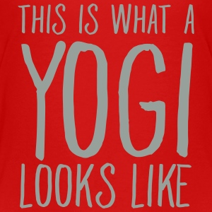 This Is What A Yogi Looks Like Baby & Toddler Shirts - Toddler Premium T-Shirt