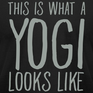 This Is What A Yogi Looks Like T-Shirts - Men's T-Shirt by American Apparel