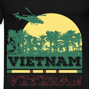 Veterans T-shirt - Vietnam veteran - Men's Premium T-Shirt