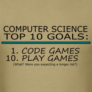 Computer Science Top 10 List T-Shirts - Men's T-Shirt