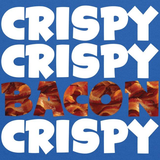 Kid's Crispy, Crispy, Bacon, Cripsy (White)