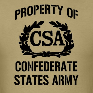 Property of Confederate States Army - Men's T-Shirt