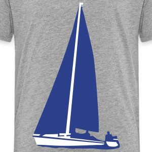Sailboat, sailing Baby & Toddler Shirts - Toddler Premium T-Shirt
