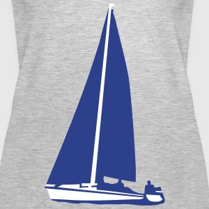 Sailboat, sailing Tanks - Women's Premium Tank Top