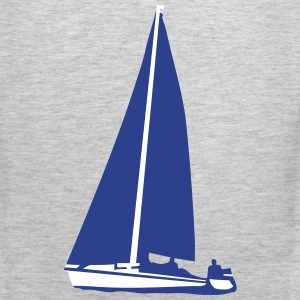Sailboat, sailing Tank Tops - Men's Premium Tank