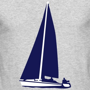 Sailboat, sailing Long Sleeve Shirts - Men's Long Sleeve T-Shirt by Next Level