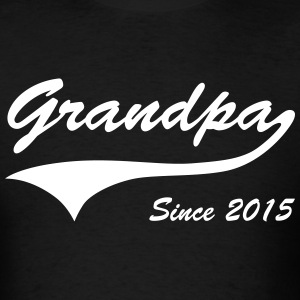 Grandpa Since 2015 T-Shirts - Men's T-Shirt
