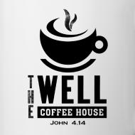 Design ~ Contrast Coffee Mug, Black Logo