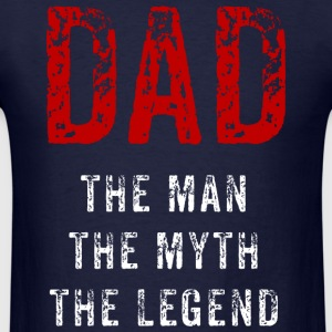 Dad - the myth - Men's T-Shirt