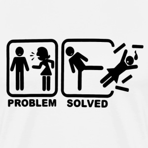 problem solved T-Shirts - Men's Premium T-Shirt