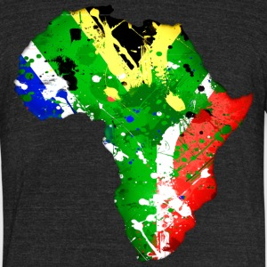 Suid Afrika T-Shirts - Unisex Tri-Blend T-Shirt by American Apparel
